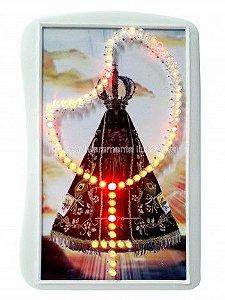 Terço Eletrônico de Luz de Nossa Senhora Aparecida