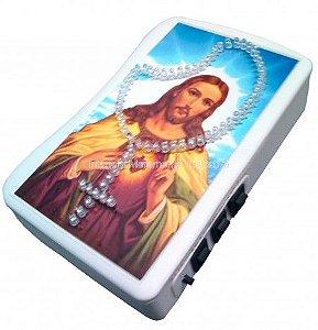 Terço Eletrônico de Luz do Sagrado Coração de Jesus