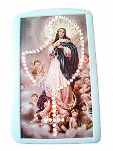 Terço Eletrônico de Luz da Nossa Senhora da Conceição