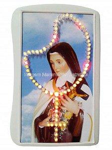 Terço Eletrônico de Luz de Santa Teresinha