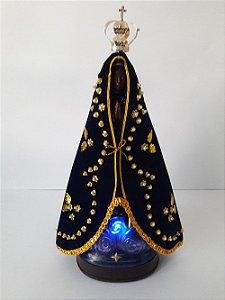 Nossa Senhora Luminosa com Manto e Coroa