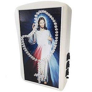 Terço Eletrônico de Luz Jesus Misericordioso