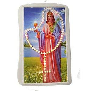 Terço Eletrônico de Luz Santa Barbára