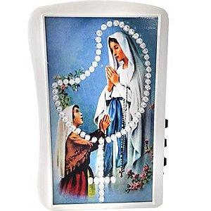 Terço Eletrônico de Luz Nossa Senhora de Luz Nossa Senhora de Lourdes