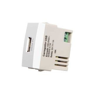Sleek BR - Modulo Tomada carregador USB Margirius