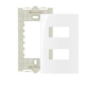 Sleek BR - Placa com Suporte 4x2 Margirius - 2 Modulos Separados