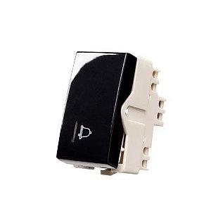 Sleek PT - Modulo Interruptor Pulsador Campainha com Luz Margirius