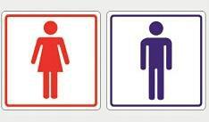 Etiqueta Sanitario - Masculino ou Feminino