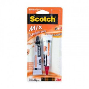 Adesivo 3M Scotch Epóxi Mix