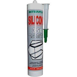 Silicone Cola Vidro Aquário