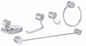 Acessorios Banheiro Deca - Kit 5 Peças