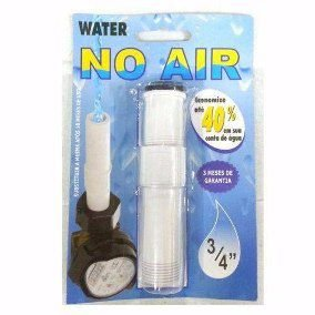 Bloqueador de Ar Pvc Water No AIR 3/4''