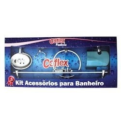 Acessorios Banheiro Starflex - Kit 5 Peças