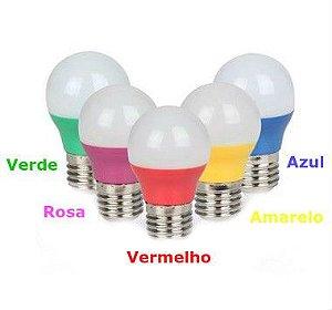 Lampada Led Bolinha Colorida 5W