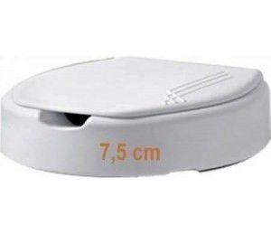 Assento Sanitario Elevado 7,5 cm Branco