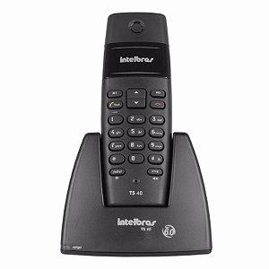 Telefone Intelbras sem Fio Digital TS 40