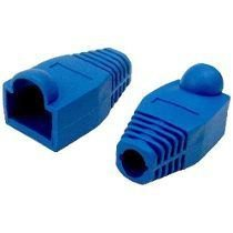 Capa p/Plug Modular RJ45 Azul  8 x 8