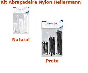 Abraçadeira Nylon Hellermann Kit c/125 Peças