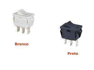 Interruptor Tecla Unipolar 6A - Série 16.000