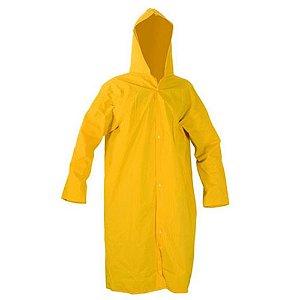 Capa de Chuva Forrada Amarela Grande