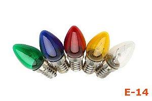 Lampada E14 Chupetinha Colorida