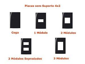 Sleek PT - Placas sem Suporte 4x2