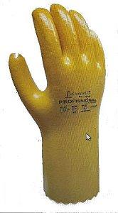 Luva Mao Suecril Amarelo Ref - 34 AM
