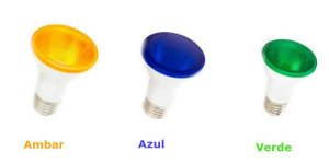 Lampada Par20 Colorida Led IP65