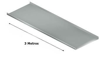 Eletrocalha - Tampa de Encaixe 3 Metros