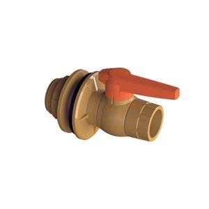 Adaptador com Flange com Registro 50mm