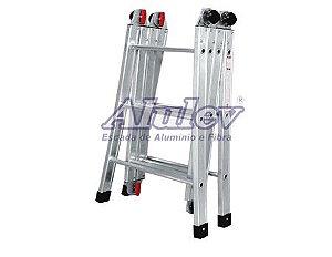 Escada Aluminio Articulada 12 em 1