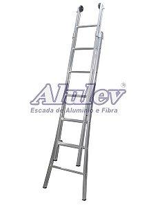 Escada Aluminio Esticavel ED