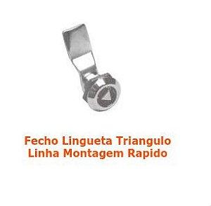 Fecho Lingueta Triangulo - Linha Montagem Rapida