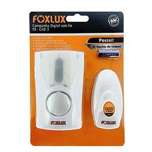 Campainha Sem Fio Bivolt - Foxlux