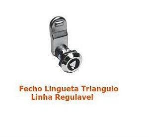 Fecho Lingueta Triangulo