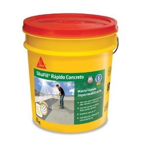 Manta Liquida - Sikafill Rapido Concreto 15 Kg