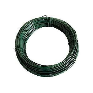 Arame Galvanizado Revestido de PVC Verde