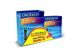 Tiras para glicose 50un Ganhe + 10un Grátis - OneTouch Ultra