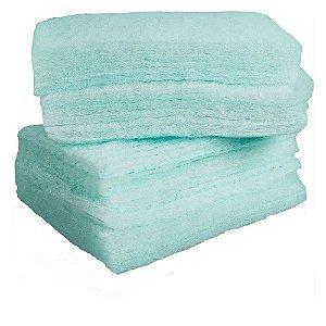 Kolpbath esponja para banho impregnada com sabonete neutro Embalagem plástica Não Estéril Pacote com 24 unidades