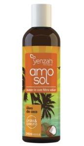 Yenzah Leave in AMO Sol 240 ml - com Filtro Solar