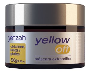Yenzah Yellow Off Máscara Extrabrilho - 300g