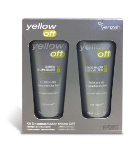 Kit Yenzah Shampoo 200ml + Condicionador 200 ml Yellow off