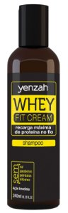 Yenzah Shampoo Whey Fit Cream - 240ml