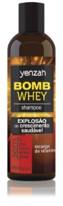 Yenzah Shampoo Whey Bomb Cream - 200ml