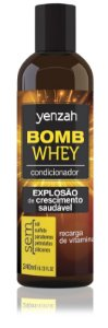 Yenzah Condicionador Whey Bomb Cream - 240ml