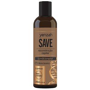 Yenzah Condicionador SAVE - RECONSTRUÇÃO - 240ml