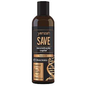 Yenzah Leave in SAVE - RECONSTRUÇÃO - 240ml