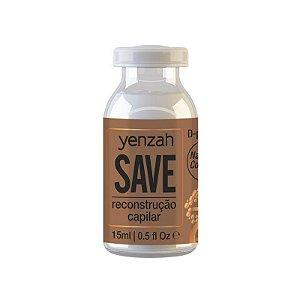 Yenzah Save - Ampola de Reconstrução Capilar 15 ml