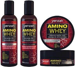 Família Yenzah Amino Whey - Recarga de Aminoácidos
