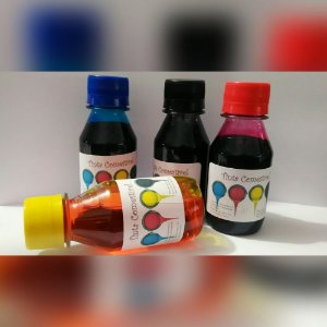 Kit Tintas comestivel de 250ml  HP / EPSON /CANON